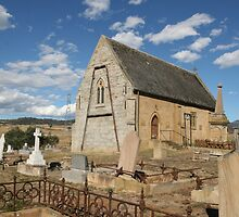 The Church of St Mary the Virgin, Gretna, Tasmania by Gail Mew