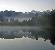 Lake Matheson by Darqfyre
