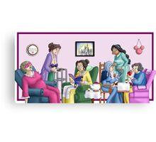 Princess Retirement Canvas Print