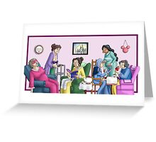 Princess Retirement Greeting Card