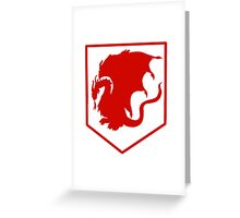 Merlin- Camelot Crest Greeting Card