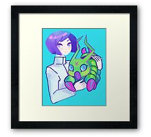 Ken & Wormmon Framed Print
