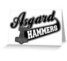 Asgard Hammer Greeting Card