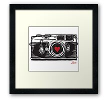 Leica Love! Framed Print