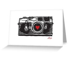 Leica Love! Greeting Card
