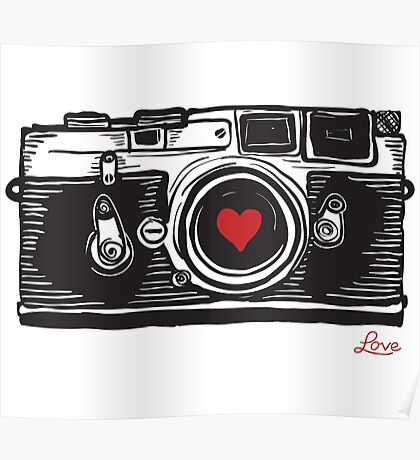Leica Love! Poster
