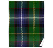 00401 Baron of Greencastle Tartan  Poster