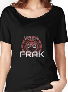 What the Frak Women's Relaxed Fit T-Shirt