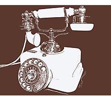 Hello? Photographic Print