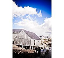Weathered Shanty Photographic Print