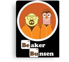 Beaker Bunsen Breaking Bad Canvas Print