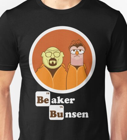 Beaker Bunsen Breaking Bad Unisex T-Shirt