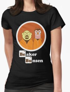 Beaker Bunsen Breaking Bad Womens Fitted T-Shirt