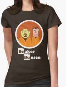 Beaker Bunsen Breaking Bad Womens Fitted T-Shirt