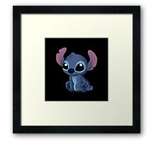 Chibi Stitch  Framed Print