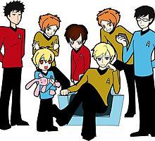 Host Trek by unluckyclover
