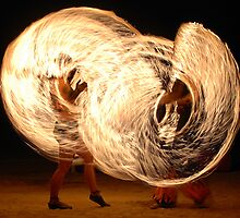 Fire Dancers by Grant Scollay