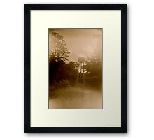 Ladd Water Tower Framed Print
