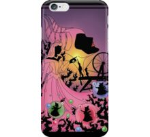 Silhouette Aurora iPhone Case/Skin