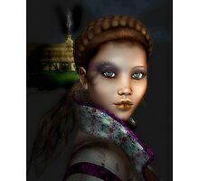 Peasant Girl Photographic Print