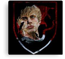 Merlin- Camelot Crest Arthur Canvas Print
