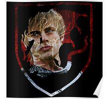 Merlin- Camelot Crest Arthur Poster