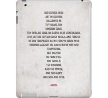 The Lord's Prayer iPad Case/Skin