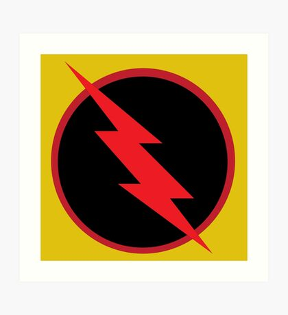 Reverse Flash Art Print