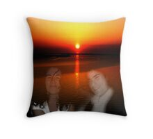 Ten years ago...! Throw Pillow