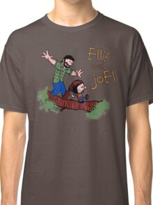 Joel And Ellie Calvin And Hobbes Classic T-Shirt