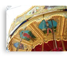 Carousel Artwork Canvas Print
