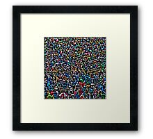 All of my people - The Raincoat Brigade Framed Print