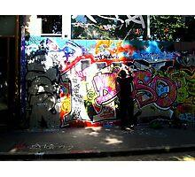 Street Art in Paris Photographic Print