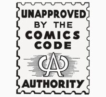 Unapproved by the Comics Code - Dark History edition Kids Clothes