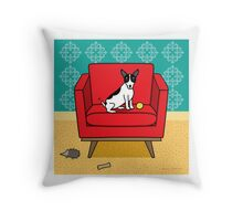 Rat Terrier Square Throw Pillow