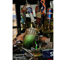 Green Beer Photographic Print