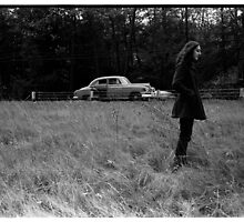 Roadside in Vermont 1969 by Lionel Douglas