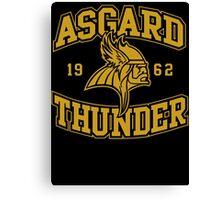 Asgard Thunder Football Canvas Print