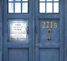 221b is Bigger on the Inside Sticker