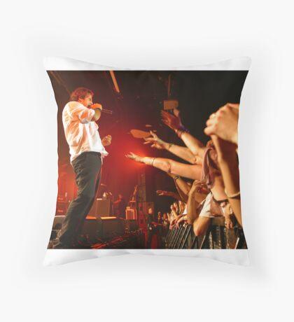 Jon Stevens INXS Throw Pillow