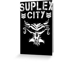 Suplex City/Bullet Club Mash Up Greeting Card