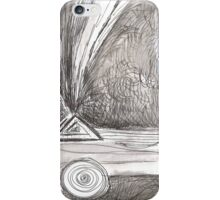 NOT TITLED - TOUCHING THE STARS INK AND WASH(C1996) iPhone Case/Skin