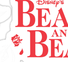princess and the beasts Sticker