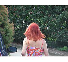 The Redhead  Photographic Print