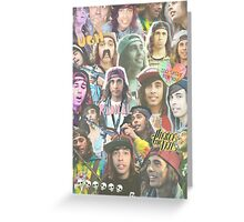 vic fuentes collage Greeting Card