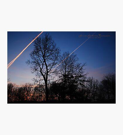 Fox River Park Sunsest 2 Photographic Print