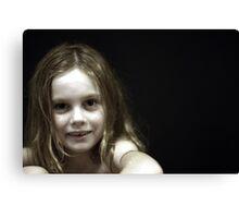 Portrait of Rachel Canvas Print