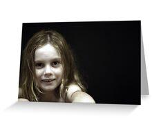 Portrait of Rachel Greeting Card