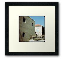 Melbourne's squares 01 (Dream sequence) Framed Print