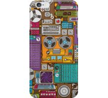 Electronic 80's Retro Devices iPhone Case/Skin